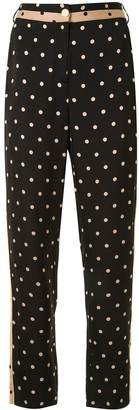 Escada Sport Polka Dot Print Trousers