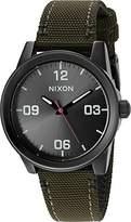 Nixon Women's 'G.I.' Quartz Stainless Steel and Nylon Watch