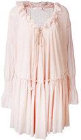 See by Chloe bohemian ruffled dress