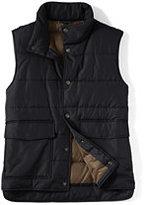 Classic Men's Puffer Vest-Black