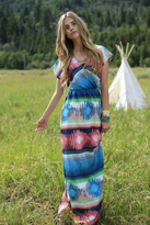 Shabby Apple Willow Maxi Dress Multi-Colored