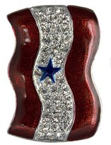 Stars & Stripes Products Star Service Banner Brooch/Pin