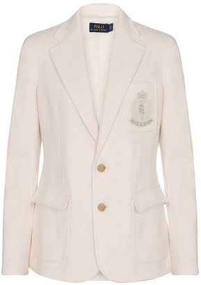 Polo Ralph Lauren Logo embroidered blazer