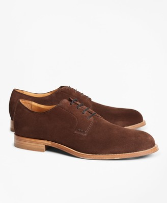Brooks Brothers Suede Lace-Up Shoes