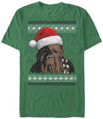 Fifth Sun Men's Tee Shirts KELLY - Star Wars Kelly Holiday Chewie Tee - Men