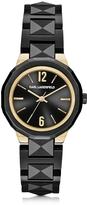 Karl Lagerfeld Joleigh Black Iconic Women's Watch