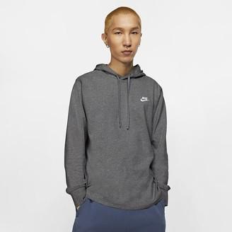 Nike Men's Jersey Pullover Hoodie Sportswear Club