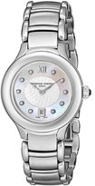 Frederique Constant Women's FC-220WHD2ER6B Delight Mother-Of-Pearl Diamond Dial Watch