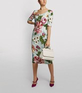 Dolce & Gabbana Floral Midi Dress