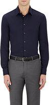 Giorgio Armani Men's Cotton-Blend Jacquard Dress Shirt