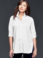 Gap Tailored poplin tunic shirt