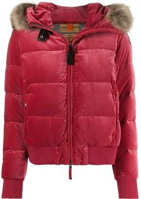 Parajumpers faux fur trimmed jacket