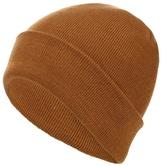 Red Herring Yellow Plain Beanie Hat