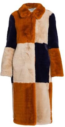 Stella McCartney Adalyn Faux-Fur Coat