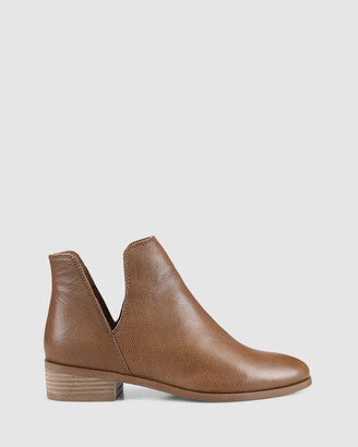 Siren Women's Brown Heeled Boots - Sadie - Size One Size, 37 at The Iconic