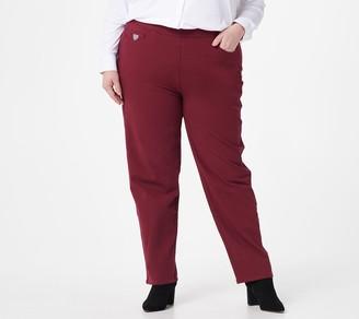 Quacker Factory Regular DreamJeannes Pick-a-Pocket Straight Jeans