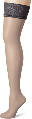 Fiore Women's Milena/Sensual Hold - up Stockings 20 DEN
