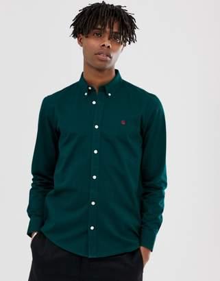 Carhartt Wip WIP Madison long sleeve shirt in dark fir green