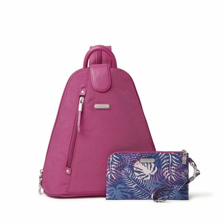 Baggallini Women's Metro Backpack with RFID Phone Wristlet