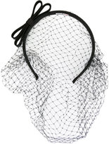 RED Valentino fishnet headband - women - Polyester/Satin - One Size
