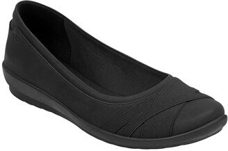 Easy Spirit Acasia Criss-Cross Flat - Wide Width Available