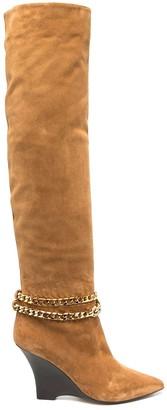Alevì Kiara wedge-heel boots
