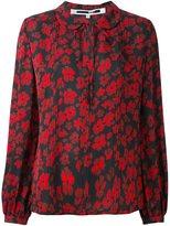 McQ by Alexander McQueen Japanese Flower print blouse