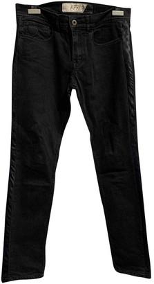 April 77 Black Cotton - elasthane Jeans for Women
