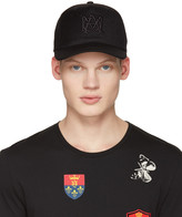 Alexander McQueen Black Insignia Cap