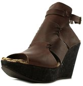 Free People OB482736 Women US 8 Brown Wedge Heel