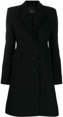 Pinko single breasted coat