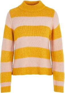 Pieces 17097541 Knitted Sweater Yellow Pceya 13496701 - xsmall