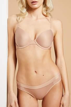 Negative Underwear Stealth Mode Demi Bra in Buff