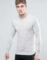 Superdry Knitted Jumper With Chest Logo