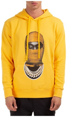Ih Nom Uh Nit Mask Print Hoodie