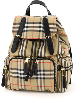 Burberry Vintage Check Medium Backpack