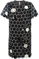 Marc by Marc Jacobs embroidered circle shift dress - women - Cotton/Polyester - M