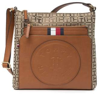 Tommy Hilfiger Virden Monogram Crossbody Bag