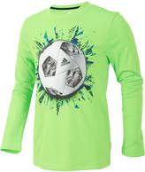 adidas ClimaLite Soccer Graphic-Print Shirt, Little Boys (4-7)