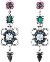 Dannijo Ellyn Crystal Statement Earrings, Multi