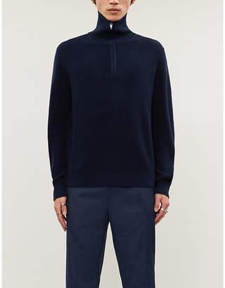 The Kooples Sport Funnel-neck wool-blend jumper