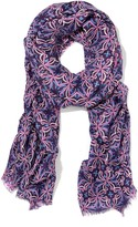 J.Mclaughlin Reed Scarf in Mosaic Gem