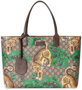 Gucci Bengal GG Supreme tote - men - Leather/Canvas/Microfibre - One Size