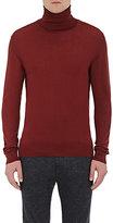 Lanvin Men's Turtleneck Sweater-RED