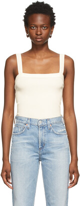 Citizens of Humanity White Florienne Tank Top