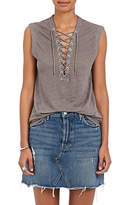 IRO Women's Tissa Lace-Up Linen Top
