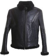 Neil Barrett Black Leather Jacket