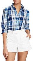 Polo Ralph Lauren Boy Fit Cotton Madras Shirt