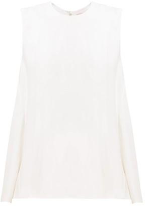 Roksanda Fuji Silk Top - White