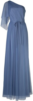 Marchesa One Shoulder Bridesmaid Gown